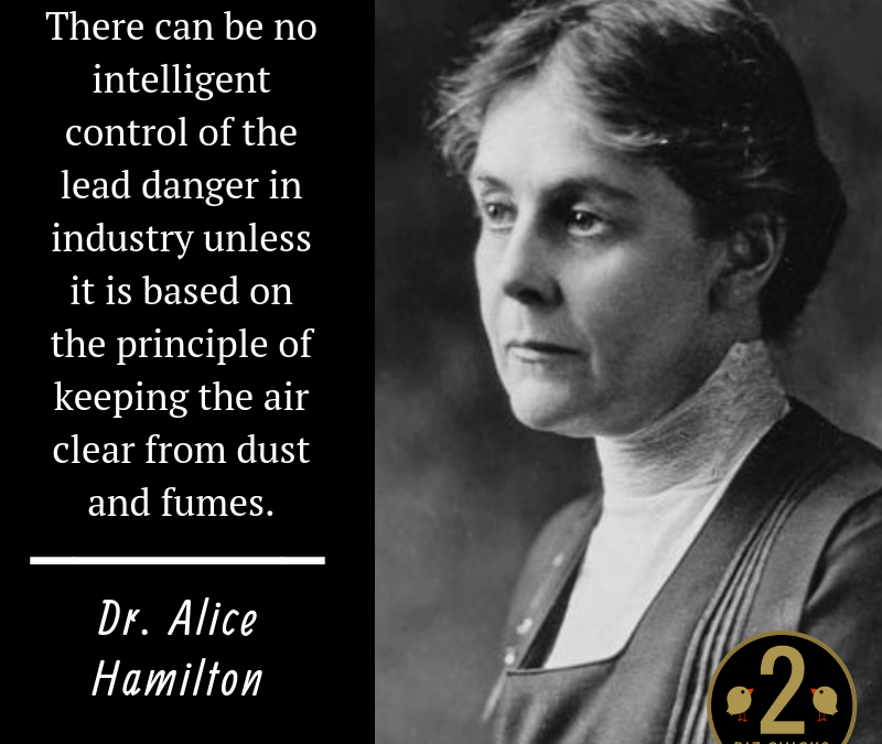 Dr. Alice Hamilton:  Tireless Advocate for Worker Safety