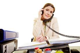 Woman Without Virtual Assistant